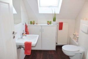 Unterputz Spülkasten Verkleiden anleitung wc toilette einbauen kloschüssel und spülkasten